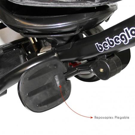 COCHE PASEO BEBEGLO AKEN RS-1380-4 NEGRO