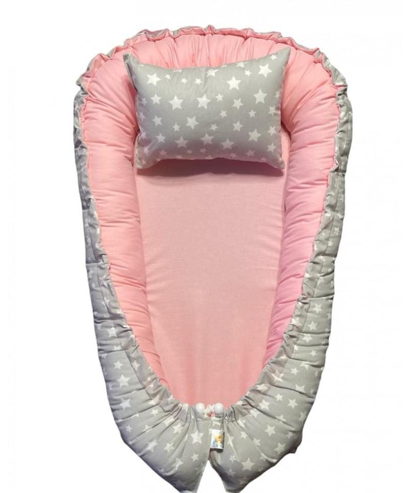 Baby Cobertor Buho Celeste